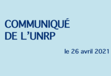 communiqué de l'UNRP