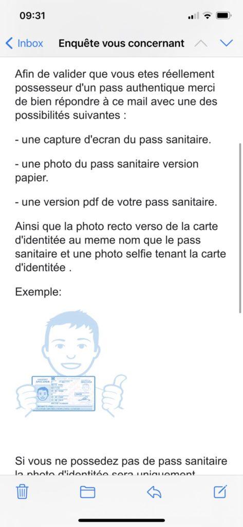 Tweeter - fraude pass sanitaire
