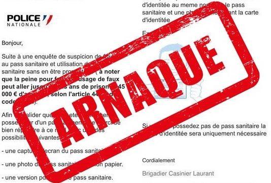 Arnaque tweeter