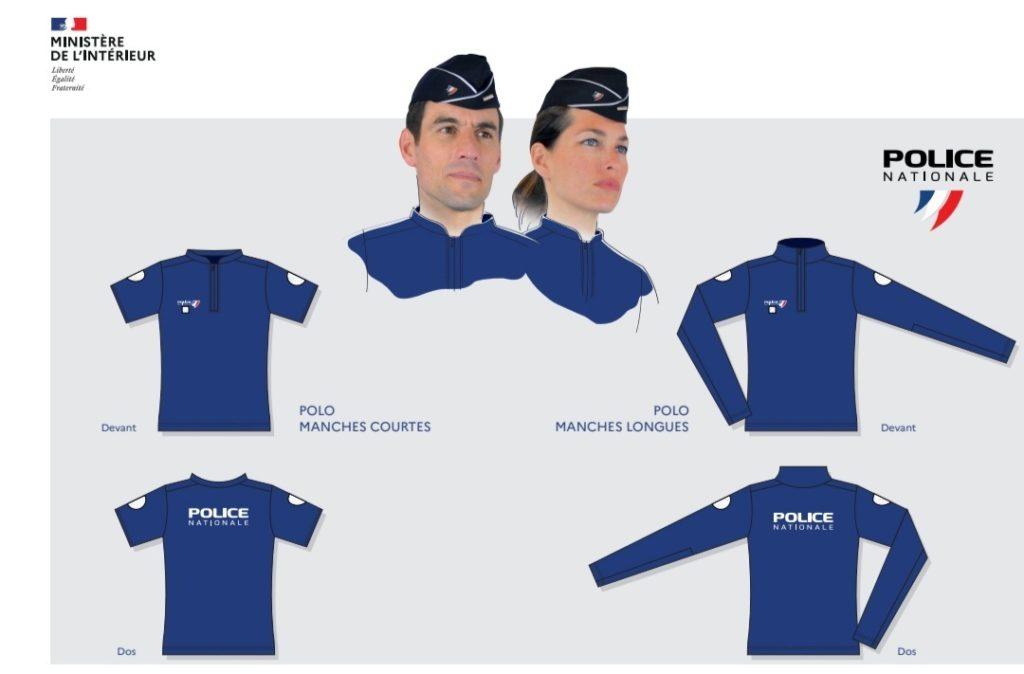 Nouvel uniforme des policiers